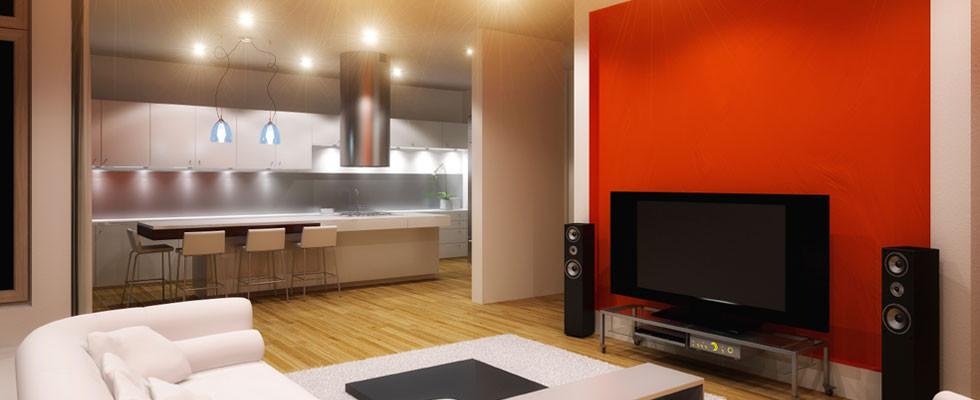 Hva med downlights på kjøkken & stue ?